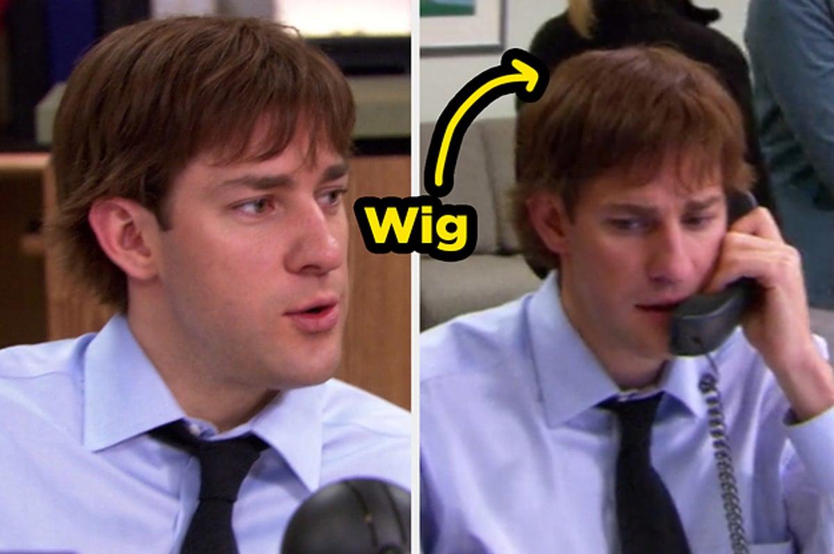 John Krasinski wore a wig for six episodes in Season 3.