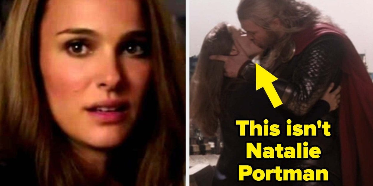 Natalie Portman Real Porn - The Kiss In \