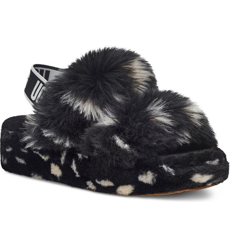 The slippers in Black Spots