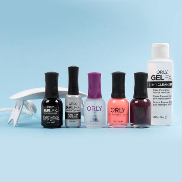 the complete gel essentials bundle laid out against a light blue background