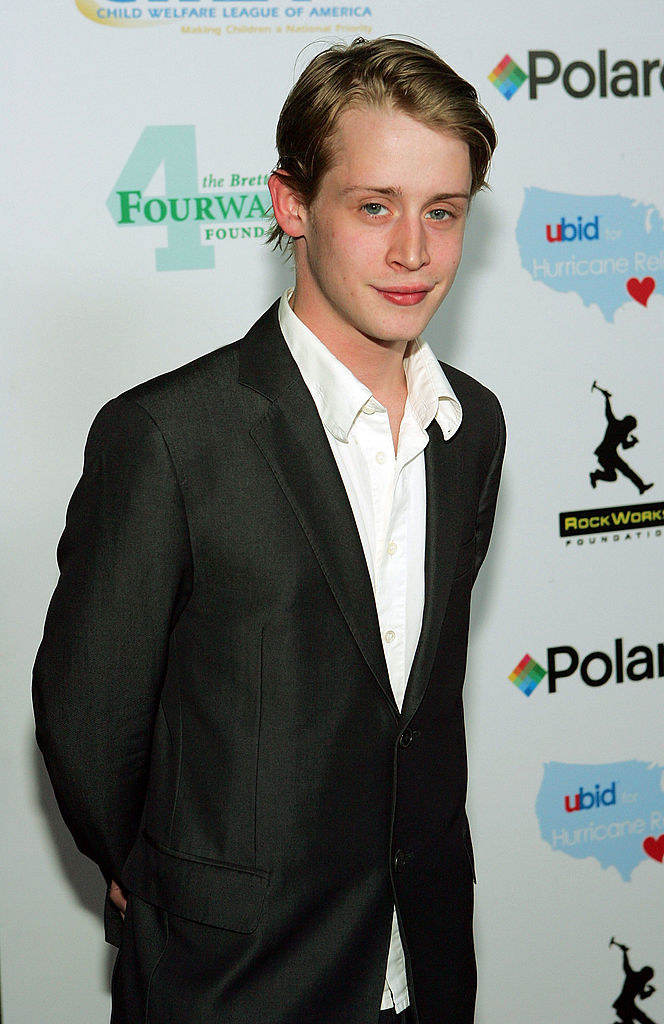 """Macaulay Culkin arrives at the launch of the """"uBid for Hurricane Relief"""" charity auction and benefit"""