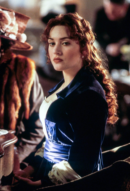 Rose in Titanic looking sad