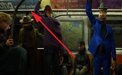 Brang Advertisement on the Subway in 'Soul'