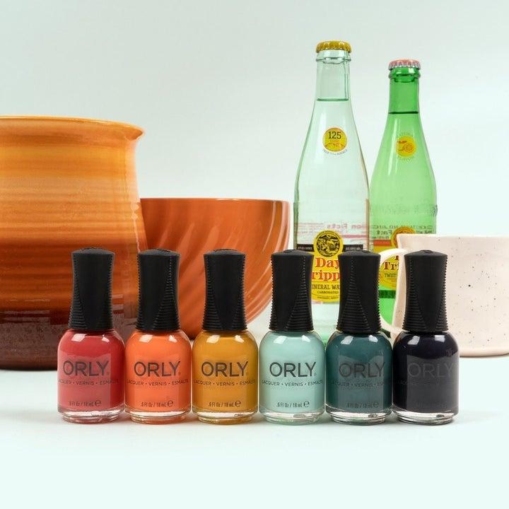 the six-piece nail polish set