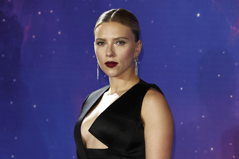 Johansson looking serious