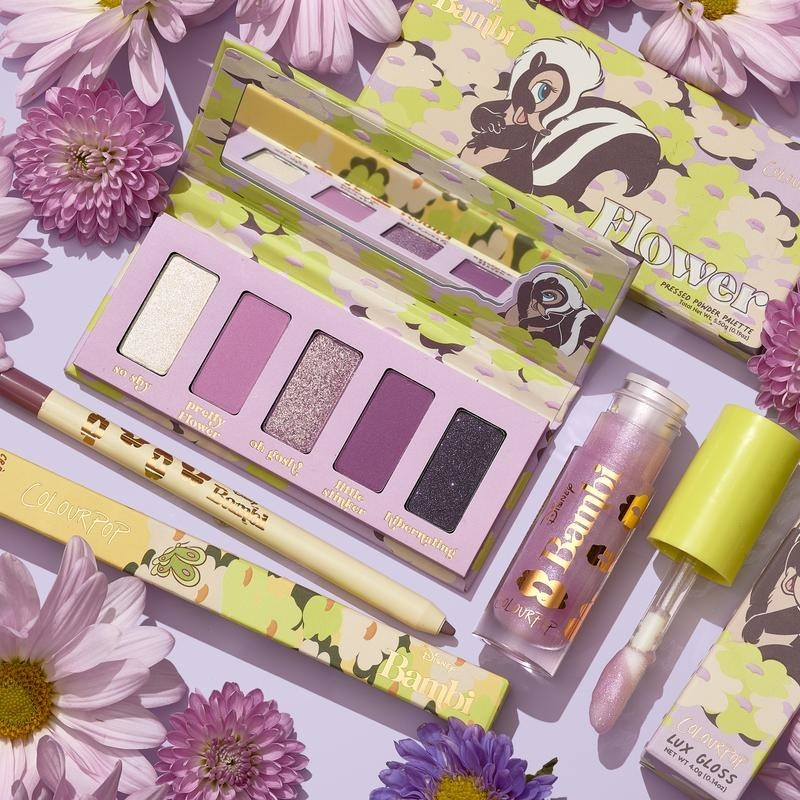 The Flower Bambi makeup collection