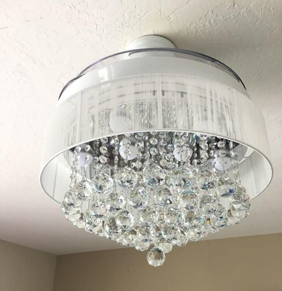Reviewer's picture of the chandelier