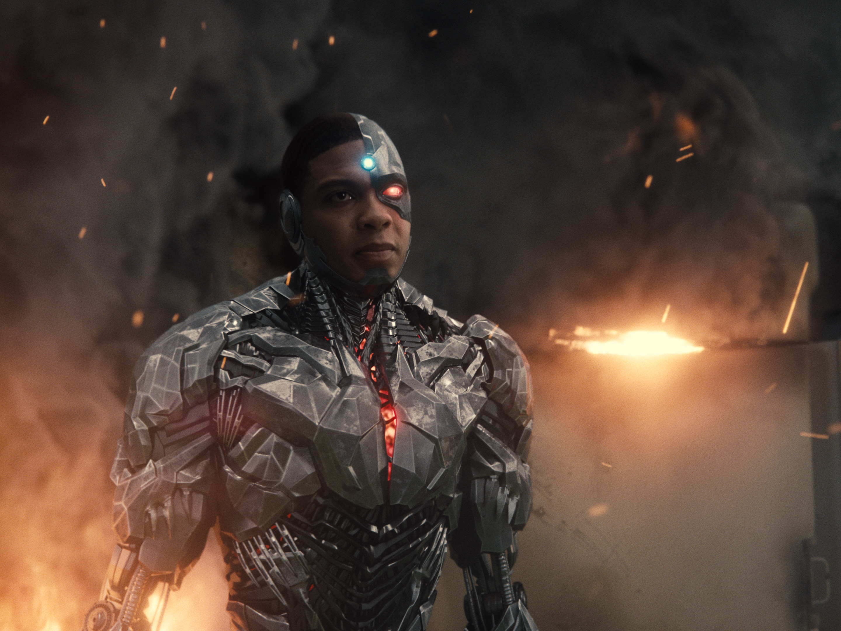 Cyborg stands out in the Snyder Cut