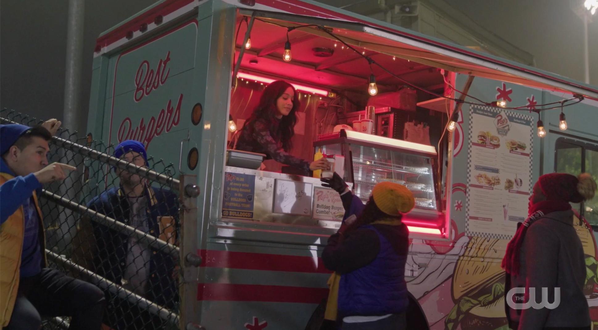 Pop's food truck