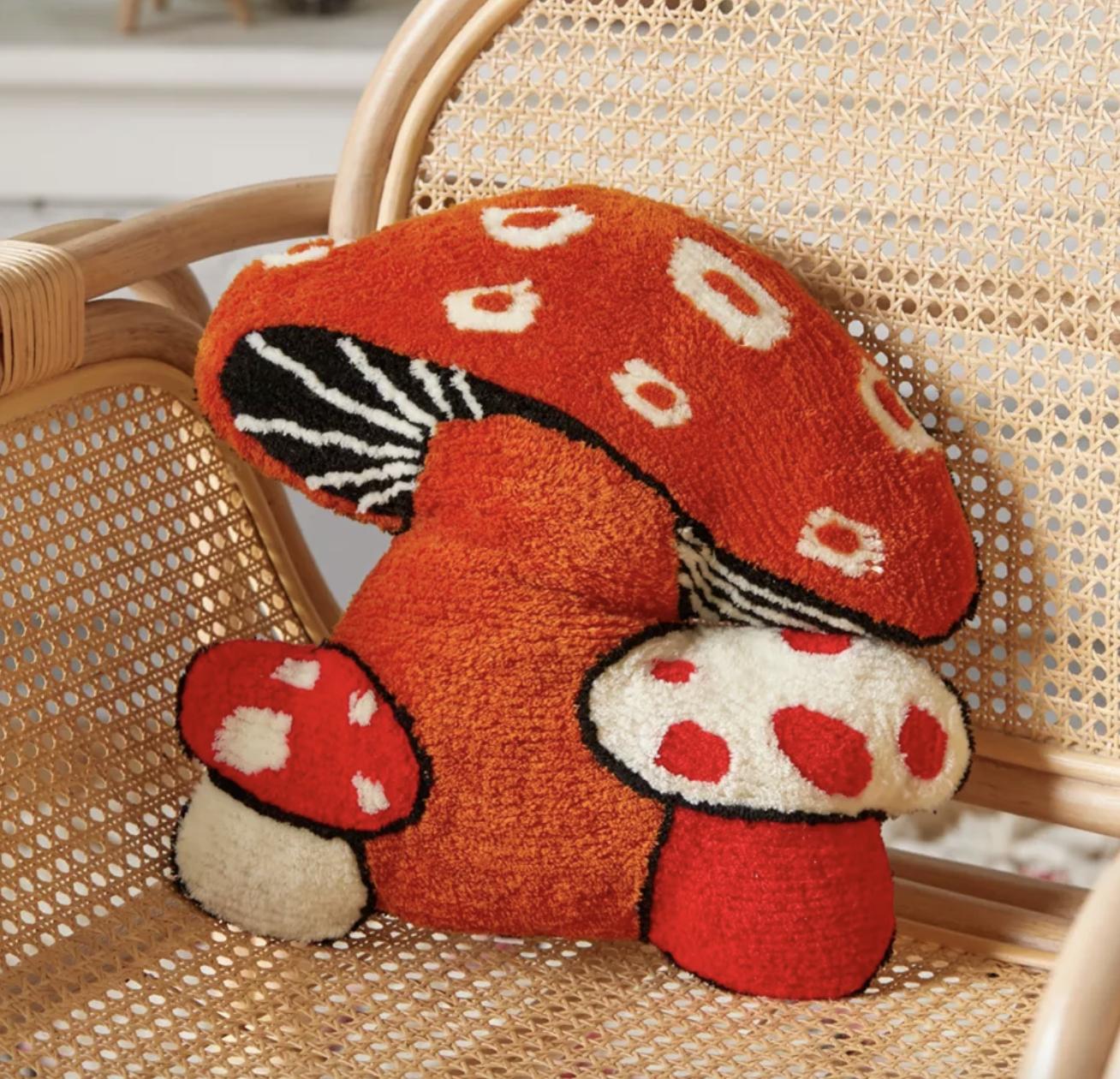 the mushroom pillow