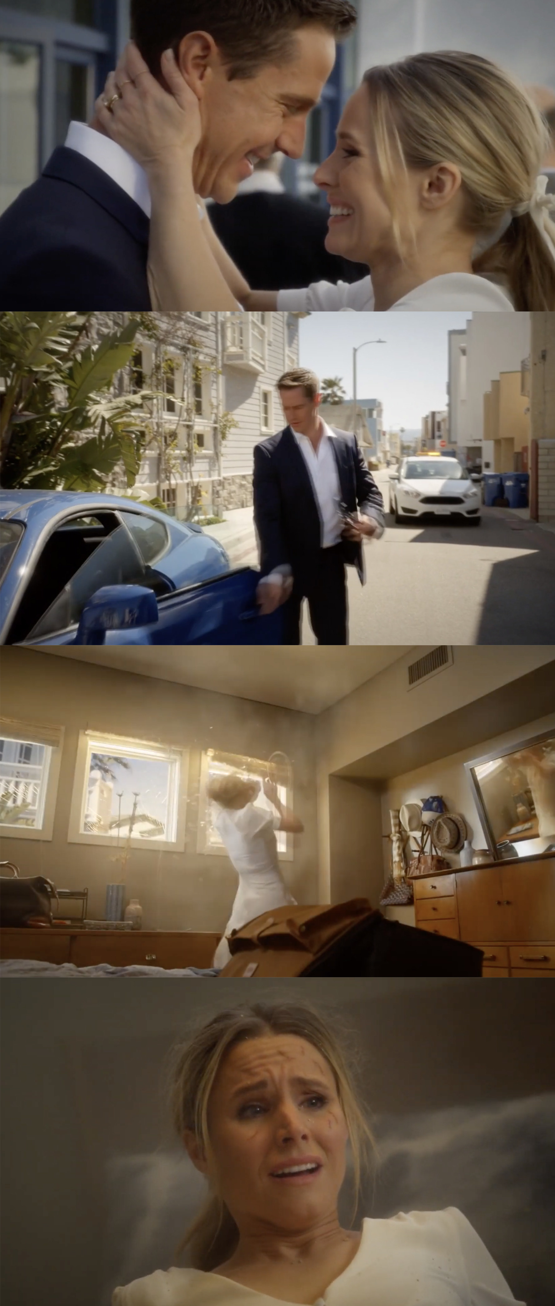 Veronica and Logan get married then go back home. Logan goes to move the car and it explodes, killing him.