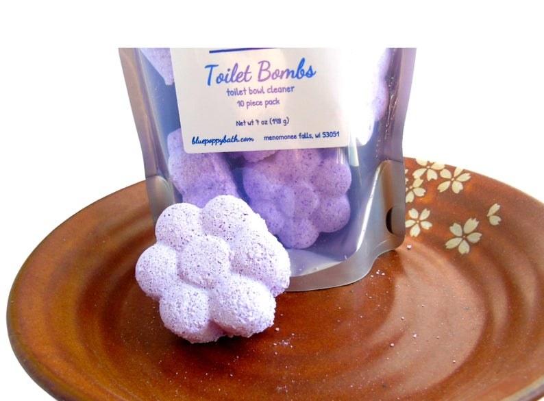 The purple flower-shaped bomb
