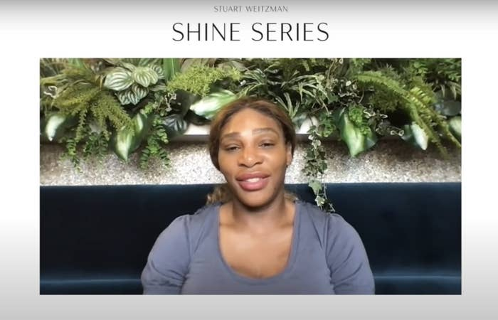 A screenshot from the Shine interview
