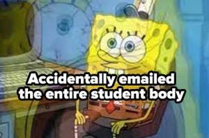 SpongeBob computer meme labeled