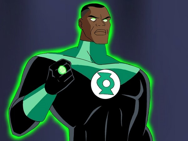 John Stewart was a central piece of the Justice League cartoon series.