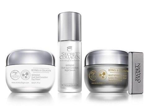 Three-piece skincare set to repair skin