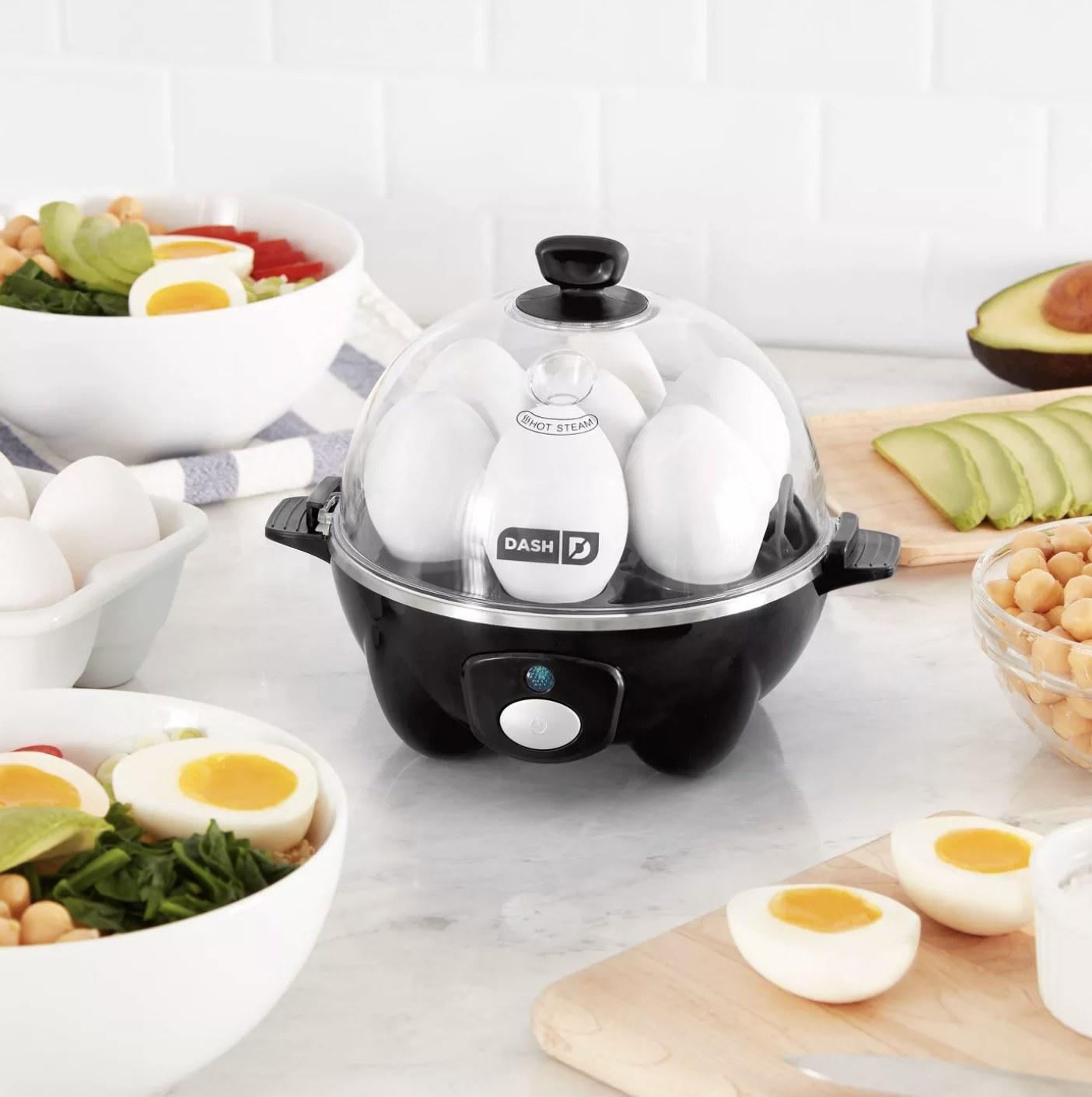 The egg cooker