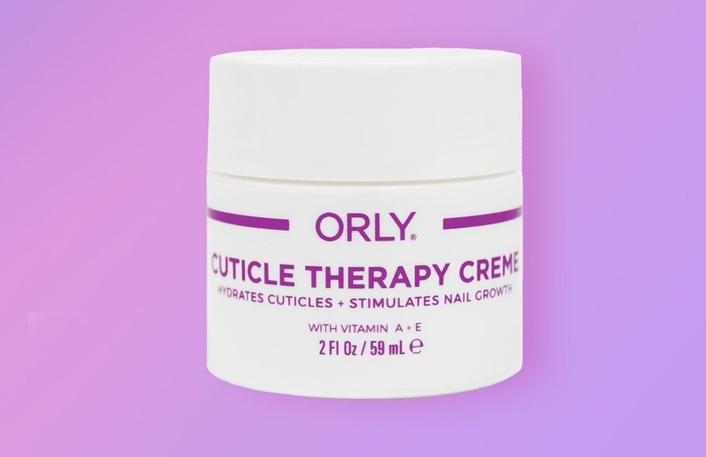 a white tub of Orly cuticle therapy cream