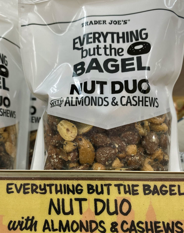 Everything but the Bagel Nut Duo Almonds & Cashews