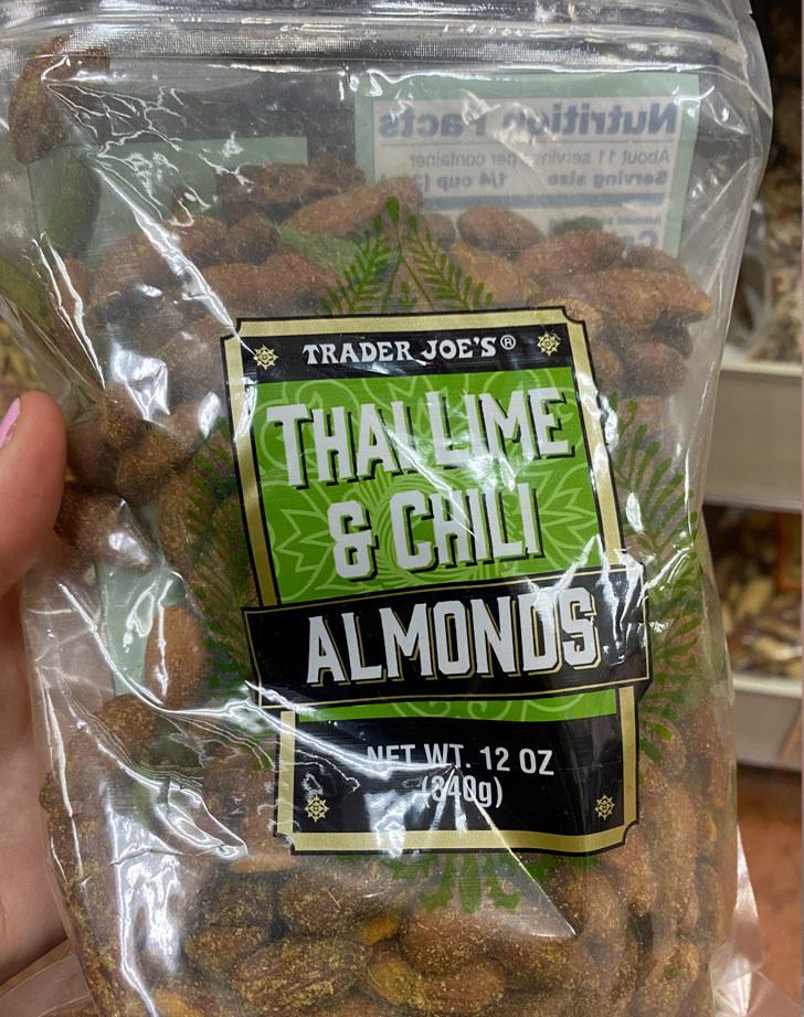 Thai Lime & Chili Almonds