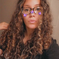 Another reviewer with natural curly hair