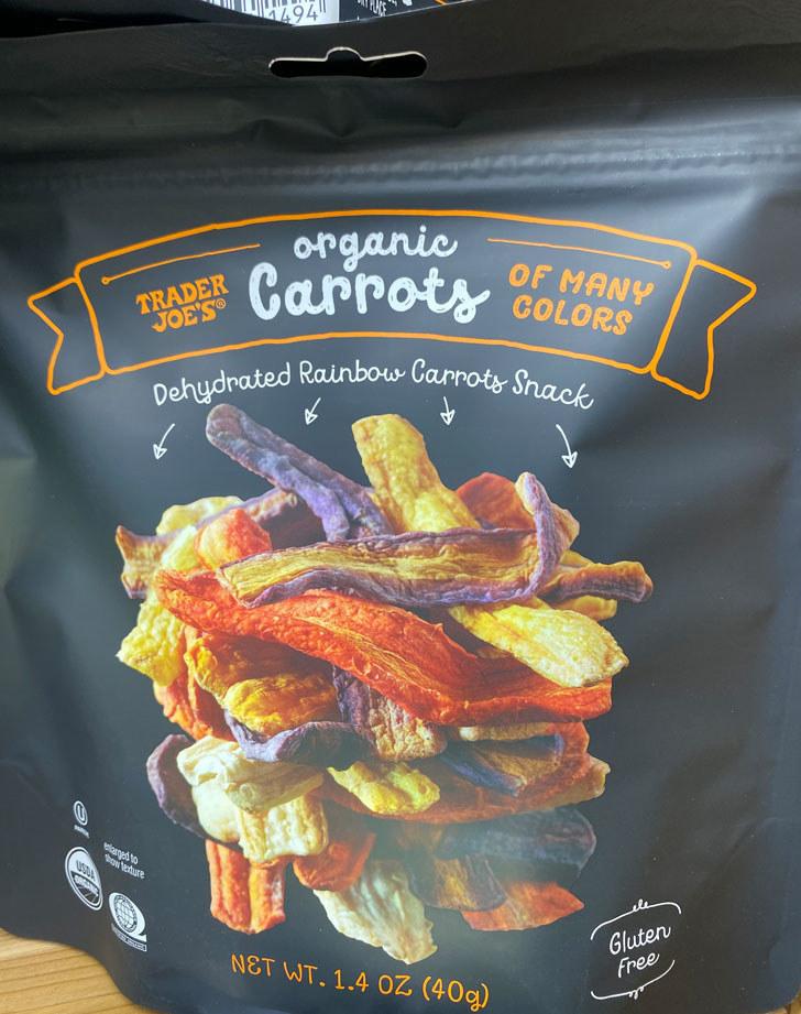 Organic Carrots of Many Colors