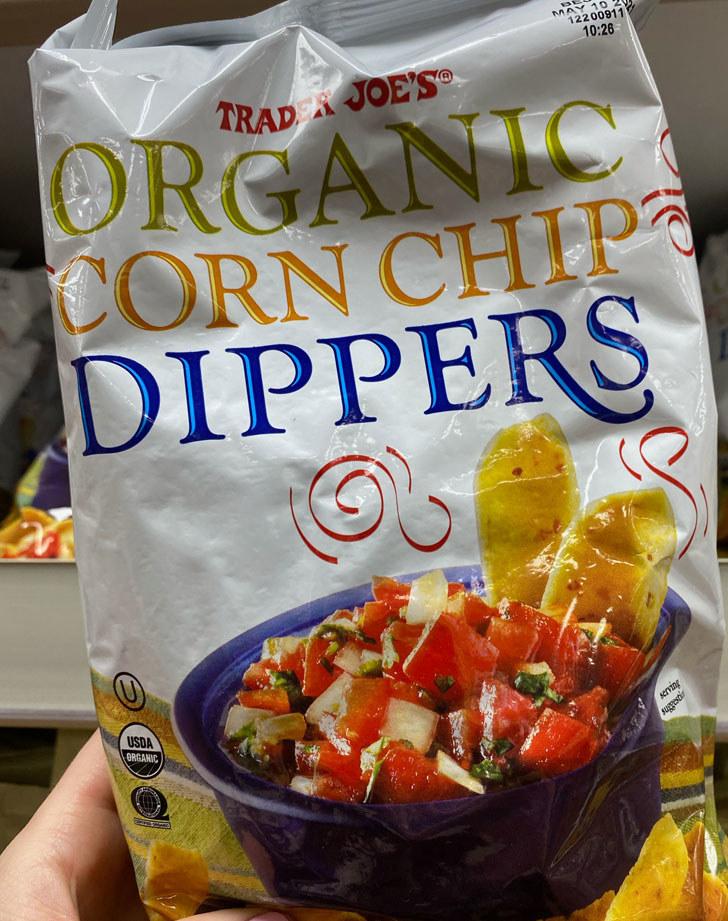 Organic Corn Chip Dippers