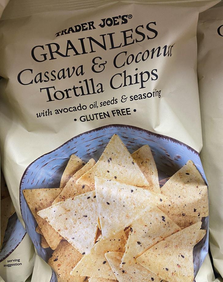 Grainless Cassava & Coconut Tortilla Chips