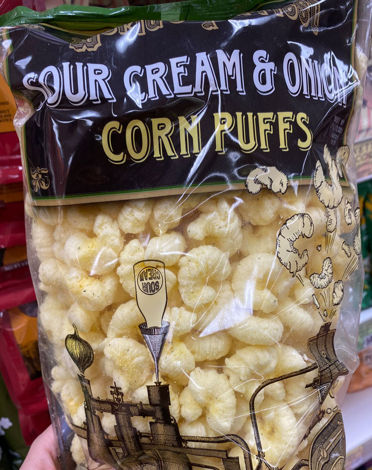 Sour Cream & Onion Corn Puffs