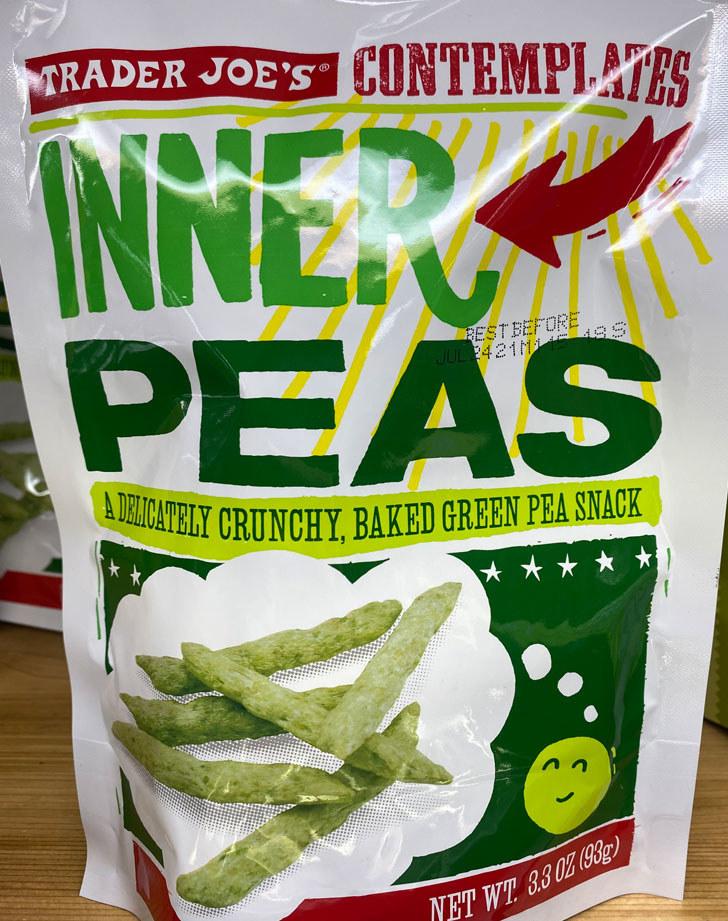 Contemplates Inner Peas
