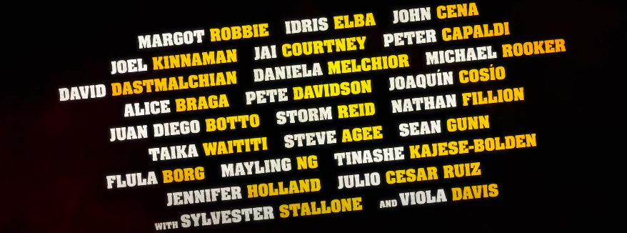 A list of the cast