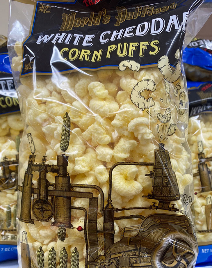 White Cheddar Corn Puffs