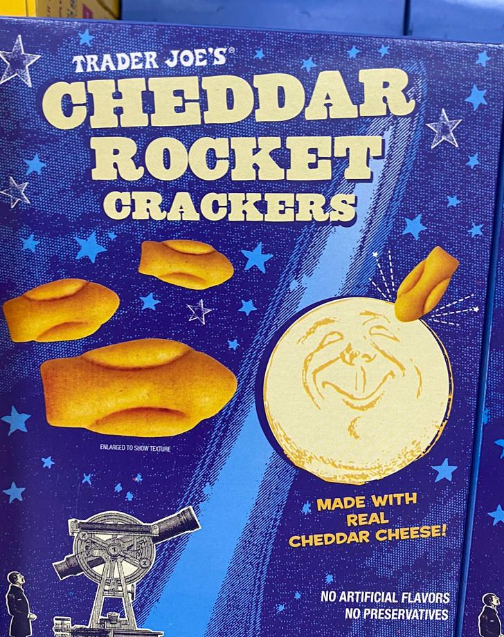 Cheddar Rocket Crackers