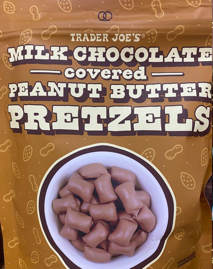 Milk Chocolate Covered Peanut Butter Pretzels