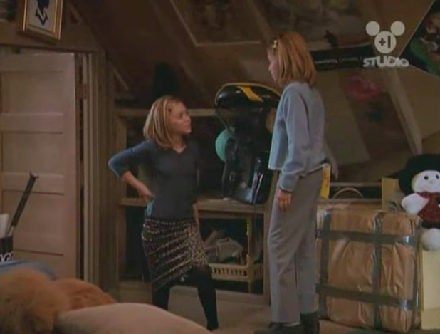 """Mary Kate and Ashley in """"Two of a Kind"""""""