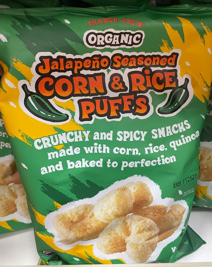 Jalapeño Seasoned Corn & Rice Puffs