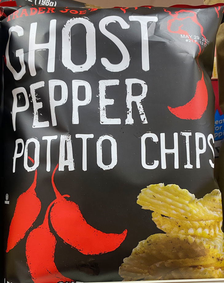 Ghost Pepper Potato Chips