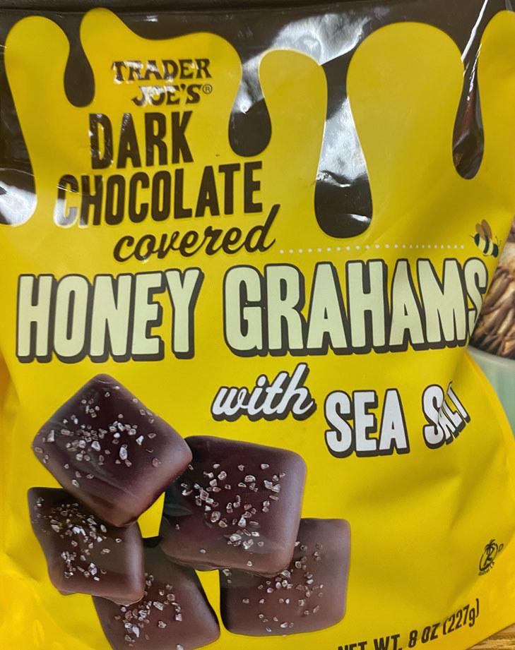 Dark Chocolate Covered Honey Grahams