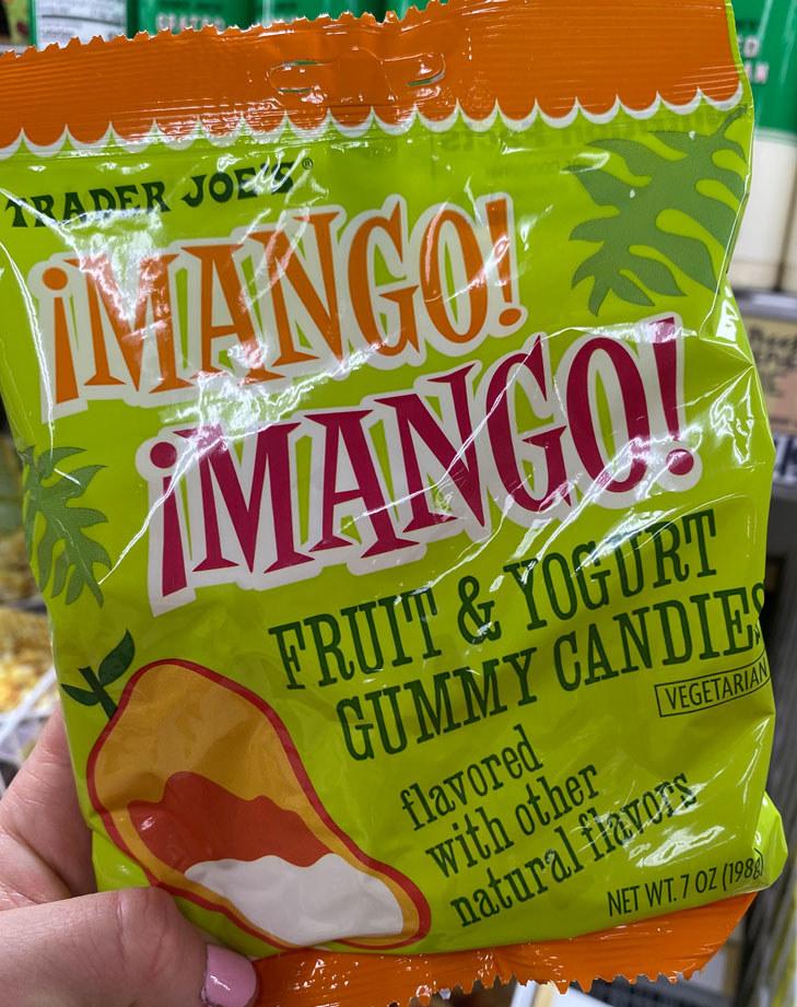 Mango Mango Fruit & Yogurt Gummy Candies