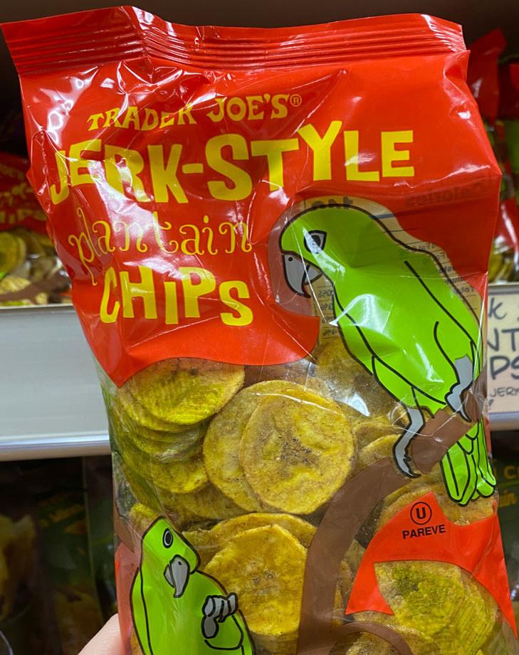 Jerk-Style Plantain Chips