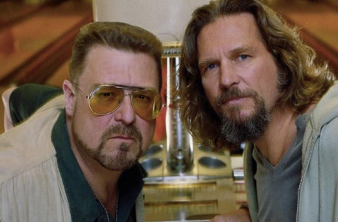 "Jeff Bridges and John Goodman in ""The Big Lebowski"""