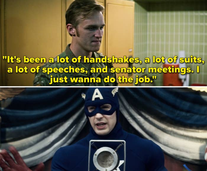 """John saying, """"It's been a lot of handshakes, a lot of suits, a lot of speeches, and senator meetings. I just wanna do the job"""""""