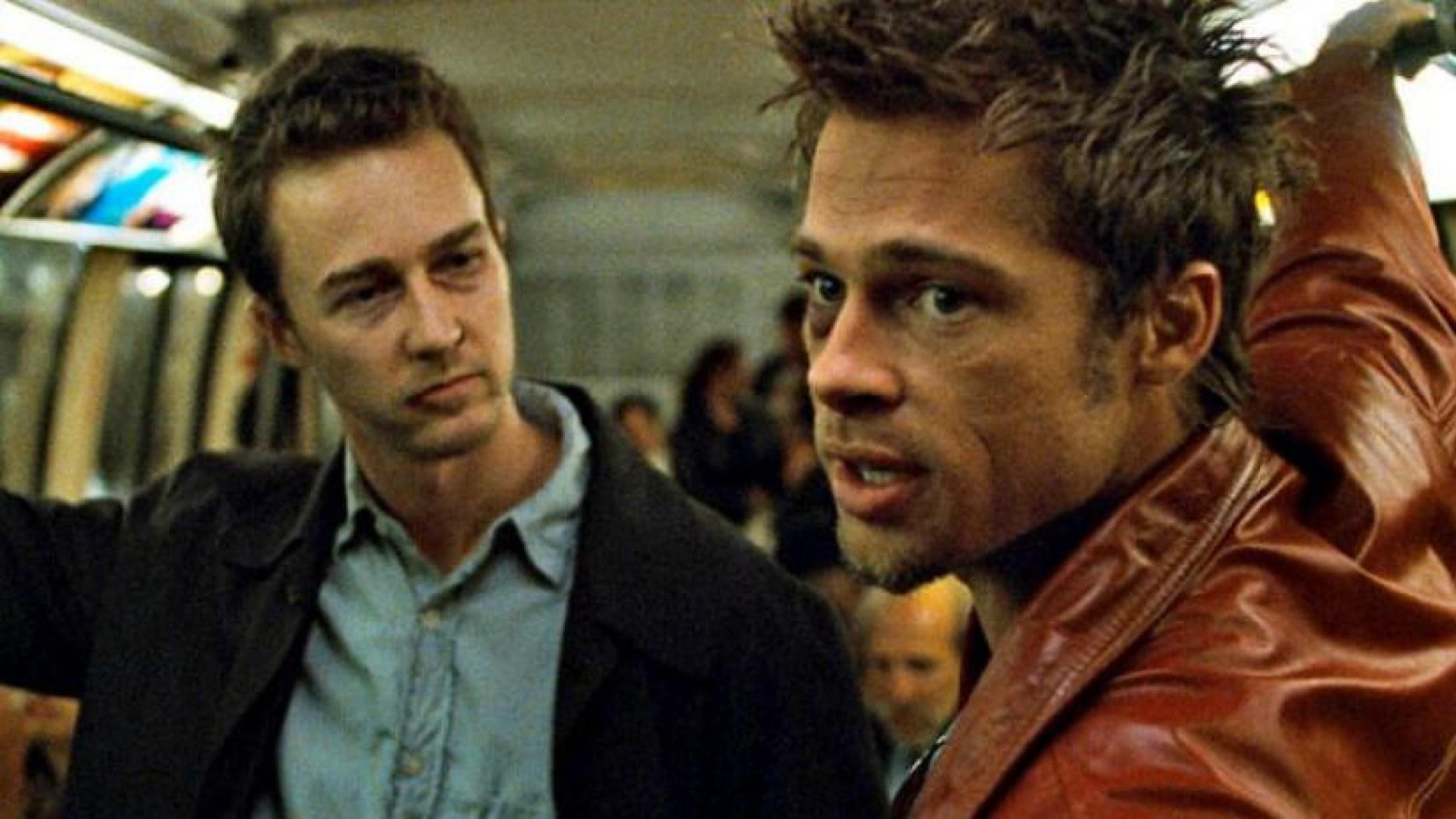 """Brad Pitt as Tyler Durden in """"Fight Club"""""""