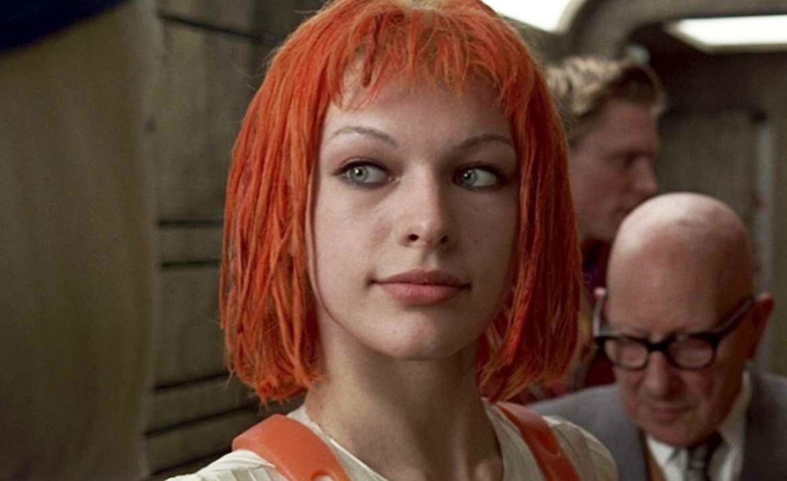 """Milla Jovovich as Leeloo in """"The Fifth Element"""""""