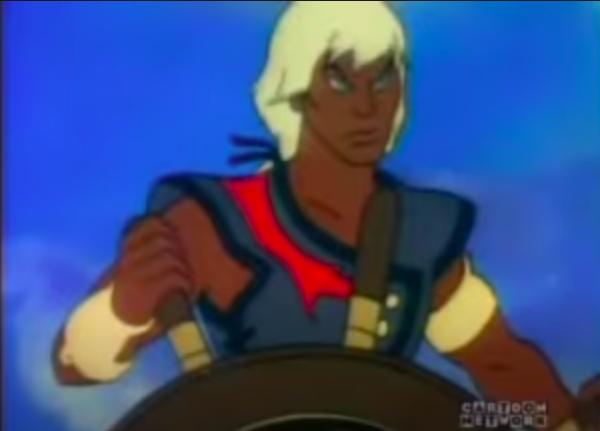 "Ren from ""The Pirates of Dark Water"""