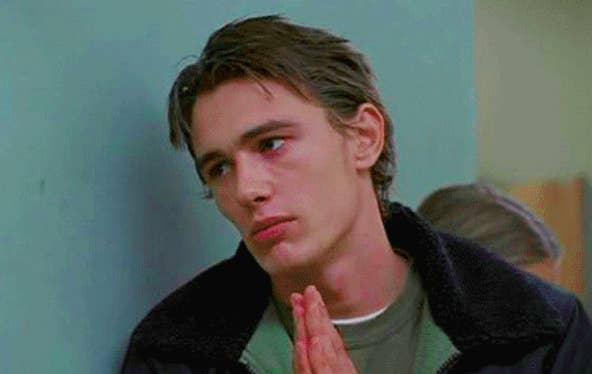 """James Franco in """"Freaks and Geeks"""""""