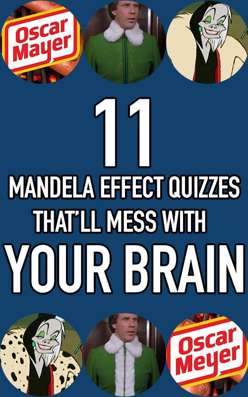 11 Mandela Effect quizzes that'll mess with your brain