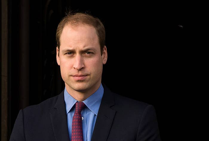 Prince William when he had more hair