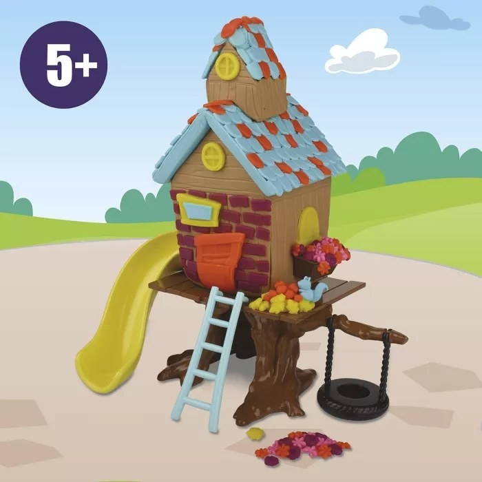The Play-Doh treehouse