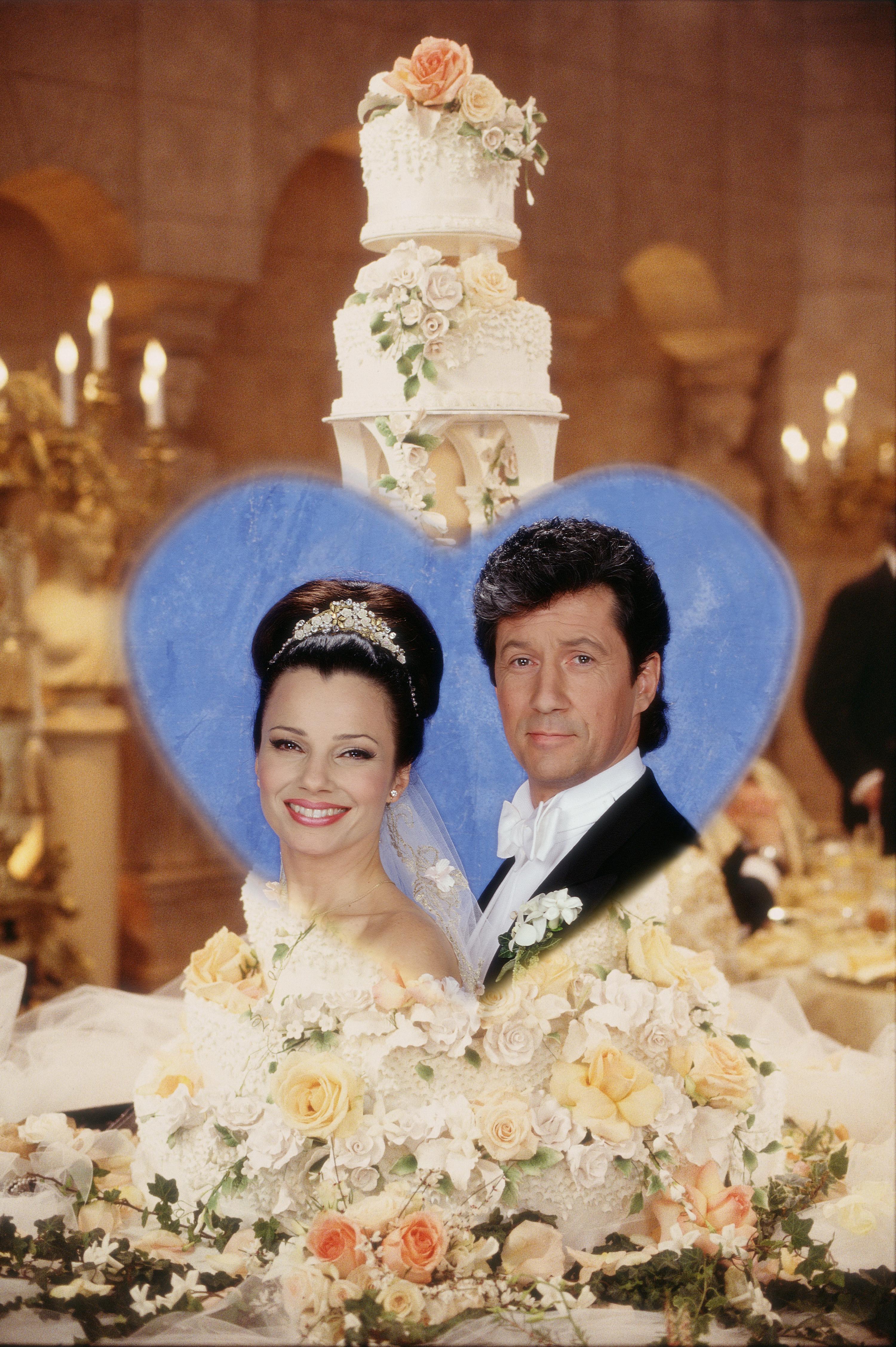 The Nanny wedding cake